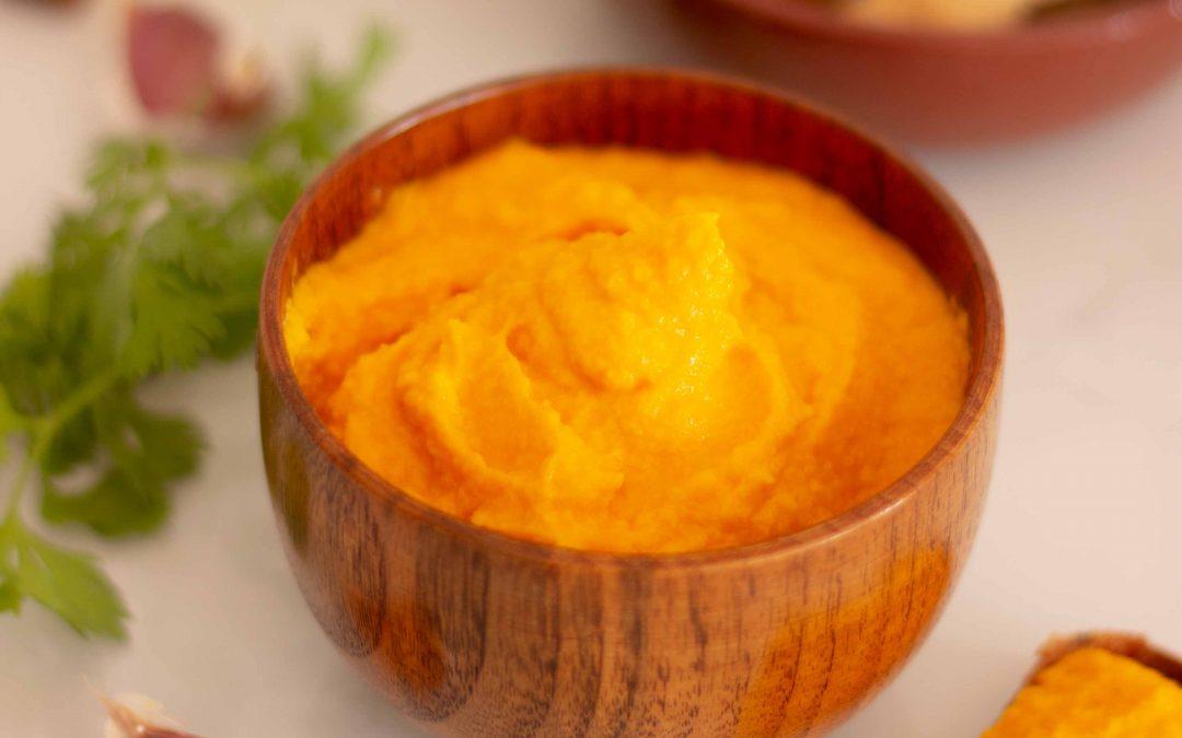 Alioli de zanahoria, rápido y delicioso